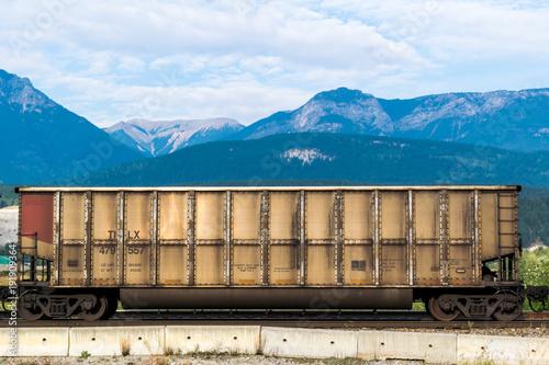 Papiers peints Canada Railway Cart