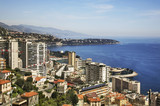 View of Larvotto district. Principality of Monaco - 191914377