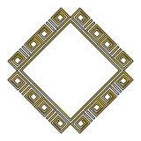 diamond geometric frame icon vector illustration design - 191918753