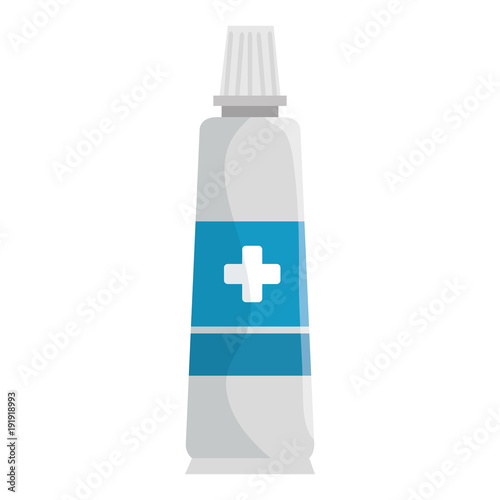 medical cream isolated icon vector illustration design