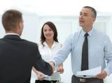 closeup.handshake business people