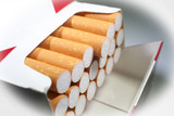 Cigarettes Close Up With White Frame High Quality Stock Photo  - 191937353