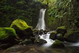 Fototapety Faial Da Terra Waterfall