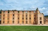 The penitentiary building at Port Arthur in Tasmania, Australia - 191946538