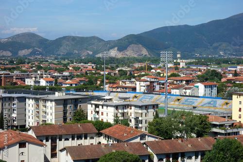 イタリア ピサの斜塔頂上からの街並み Italy Townscape from the top of the leaning tower in Pisa