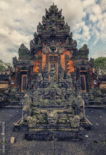 In de dag Bali Traditional balinese temple in Bali, Indonesia
