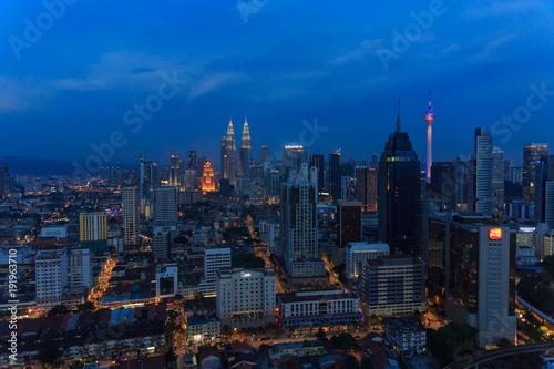 Foto op Aluminium New York Kuala Lumpur, Malaysia