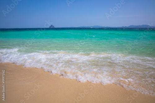 Fotobehang Tropical strand Tropical beach