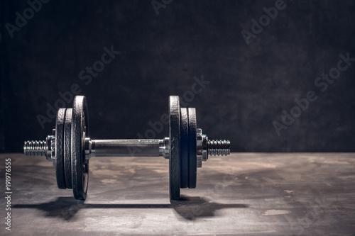 Fototapeta Fitness Sport (Krafttraining hintergrund)