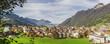 Town of Brunnen and lake Lucerne, Brunnen und Vierwaldstättersee Luzern - 191979705