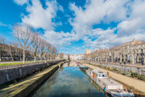 Canal de la Robine in Narbonne, France - 191986943