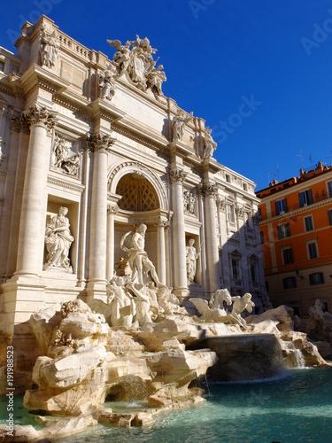 Fontaine de Trévis à Rome