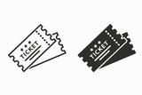 Ticket vector icon. - 191988764
