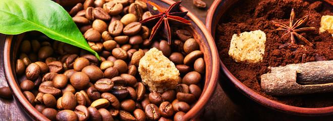 coffee roasted bean © nikolaydonetsk