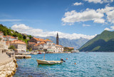 Historic town of Perast at Bay of Kotor in summer, Montenegro - 192015933