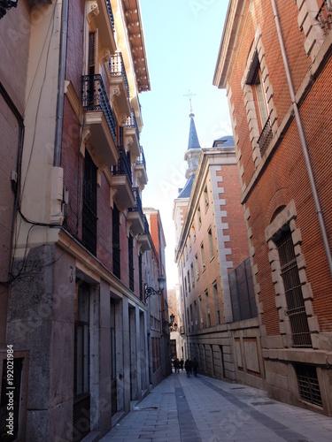Fotobehang Smalle straatjes Ruelle de ville d'europe