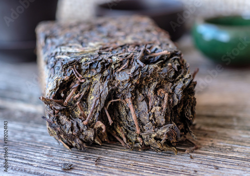Chinese mold tea from Hunan province
