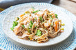 Pasta with salmon in a creamy sauce - 192024747