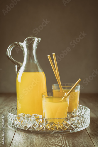 Jug Of Orange Drink