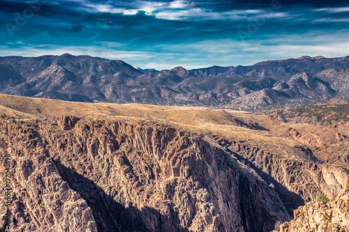 Papiers peints Saumon Desert Mountain Canyon