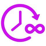 infinite time icon - 192056187