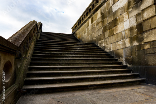 Steps Leading Up To Monument Church Of St Francis In Porto