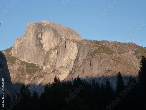 Fotobehang Zwart Yosemite