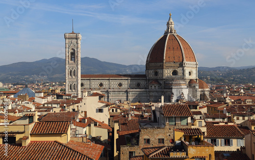 Staande foto Toscane Cathedral of Florence, Italy