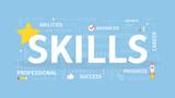 Skills concept illustration. - 192063551