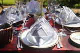 Restaurant table setting - 192067160