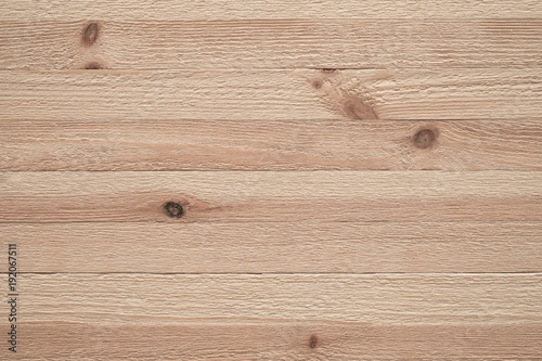 Tuinposter Hout Light pine wood background, Wooden slats without joints, Modern wood texture, Rough wooden board detail, Natural background material, Pine board background