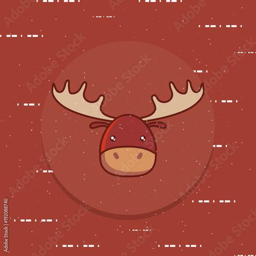 cute elk icon image