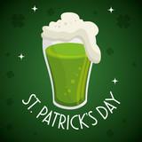 saint patrick day beer vector illustration design - 192095986