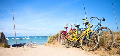 Vélo sur le littoral Français