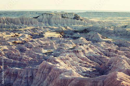 Fotobehang Galyna A. Badlands