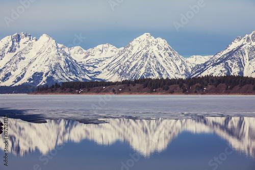 Fotobehang Galyna A. Grand Teton