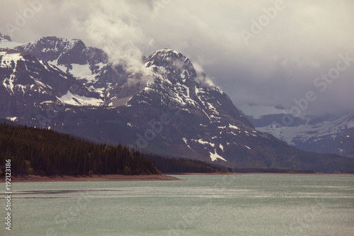 Fotobehang Galyna A. Lake in Canada