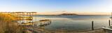 Parc à huîtres de l'étang de Thau à Bouzigues, Hérault en Occitanie, France - 192146793
