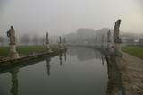 Padova Prato della Valle con nebbia Canaletta ed Isola Memmia - 192148199