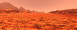3D Rendering Planet Mars Lanscape - 192178743