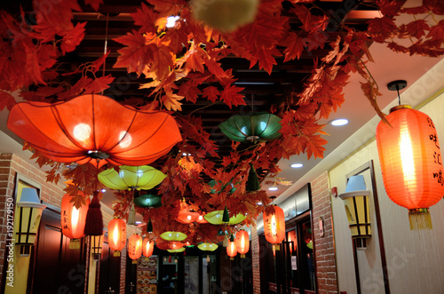 Foto op Aluminium Shanghai Chinese New Year in Shanghai