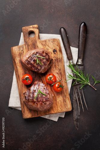 Foto op Canvas Steakhouse Grilled fillet steak