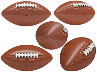american football ball collection
