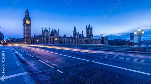 Keuken foto achterwand Londen London at night