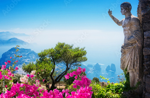 Foto op Aluminium Blauw Capri island, Italy