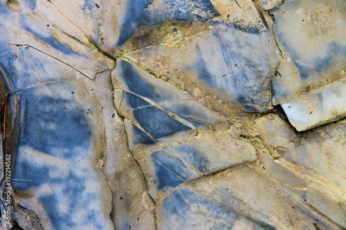 Deurstickers Stenen A rock texture