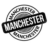 Manchester rubber stamp. Grunge design with dust scratches. Effects can be easily removed for a clean, crisp look. Color is easily changed. - 192219372