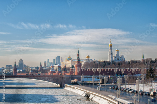 Papiers peints Moscou The Kremlin, Moscow
