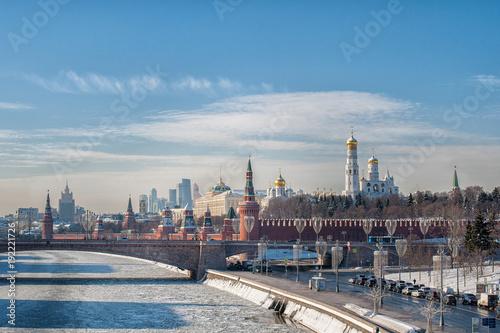 Fotobehang Moskou The Kremlin, Moscow