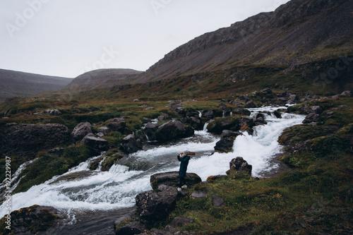 Aluminium Zwart travel iceland
